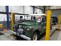 1969 series 2 recovery truck