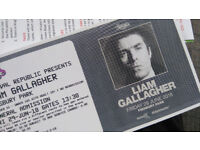 LIAM GALLAGHER FINSBURY PARK TICKETS