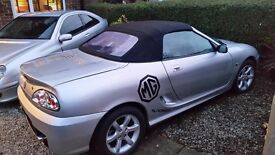 2003 (53 plate) MGTF 135 1800cc.