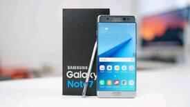 Samsung Galaxy note (7) FE Fan edition unlocked like new