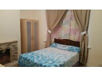 Double room with writing table & chair