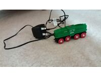 BRIO railway train rechargeable engine