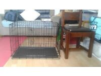 Dog crate for sale. £10