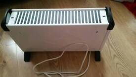 Conveter heater with timer