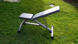 York adjustable weifht bench