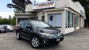 2012 Nissan Murano SL (CVT) - LEATHER! BACK-UP CAM! PANO ROOF!