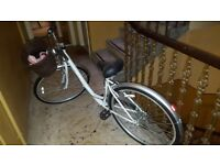 Ladies bike for sale - Raleigh Activ - with helmet.