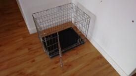 2 Door Dog Crate Extra Small