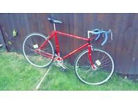 Raleigh ace single speed fixed speed bike