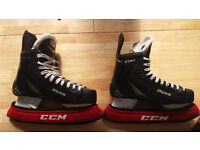 CCM TACKS 3052 PRO ICE HOCKEY SKATES - Boot size 8 D - 8.5UK fit UK 9.5 perfect condition in box