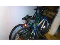 3 mountain bikes( spares or repairs)