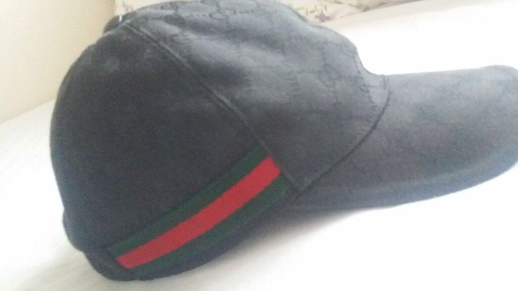 ea2e5300cbbd8 Gucci hat   cap black
