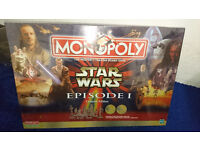 Star Wars Monopoly Episode 1 Collectors Edition New & Sealed