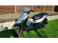 Sym dd50cc. Runs but needs work. Please read notes. Can deliver