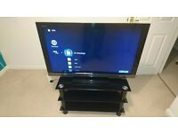 "SONY 40"" LCD TV AND STAND"