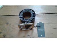 Original, high quality, BNWT G-Star Raw real leather belt, size 95/32-38, width 4.5cm
