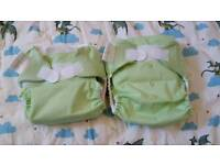 bumGenius One Size Stay Dry NEW UNUSED Reusable Nappies X 2