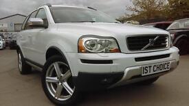VOLVO XC90 D5 R-DESIGN SE AWD GREAT SPEC (white) 2009