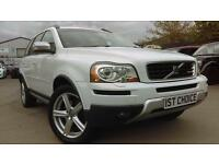VOLVO XC90 D5 R-DESIGN SE AWD GREAT SPEC (white) 2009