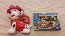 Paw Patrol puzzle & Treat Time Marshall