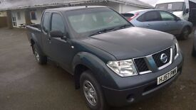 nissan navara crewcab trek, 2007 registration, 2.5 turbo diesel, covered only 104,000 miles,