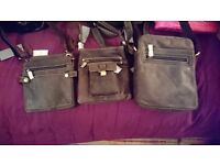 Visconti bnwt leather man bags