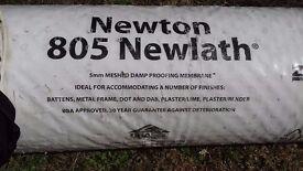 DAMP PROOF KIT - NEWTON 805 NEWLATH 5mm MESHED MEMBRANE 4ft x 15ft + MASTIC + PLUGS