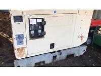 Mitsubishi 30 kva super silent diesel generator 2003