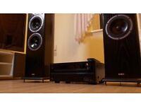 "ONKYO TX-NR414 and 2 ""AE Aelite Three"" speakers!"