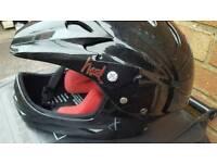 Hood full face kids helmet