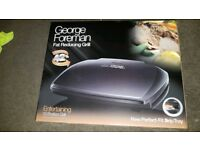 Brand new George foreman 10 portion grill