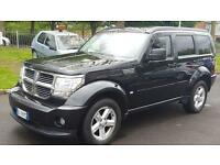 2008 DODGE NITRO ++LEFT HAND DRIVE++4X4++ 2.9L DIESEL++ AUTOMATIC++FULL LEATHER++ALLOY WHEELS++