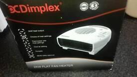 Brand new dimplex flat heater