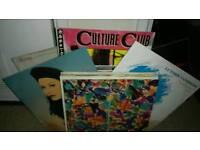 Vinyl records pop etc 12'' singles