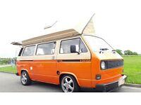 VW type 25 Devon Camper 2litre 1982 Aircooled Campervan