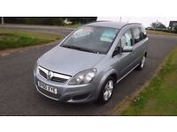 VAUXHALL ZAFIRA 1.6 EXCLUSIV,2010,7 Seater,Electric Windows,Air Con,Privacy Glass,Full History