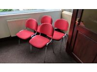4 x Office Meeting Chairs