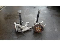 Audi A5 Rear Suspension Arms, Shocks, Calipers