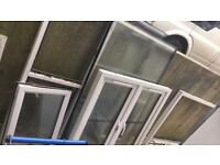 PVC window frames and glass misc