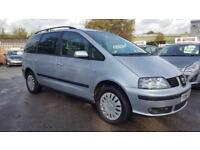 SEAT ALHAMBRA 2.0 TDI FACELIFT REFERENCE 6 SPEED 7 SEATER 2007 / 1 OWNER / FULL DEALER HISTORY
