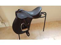 "Wintec Cair 500 saddle 17"" medium Brown"