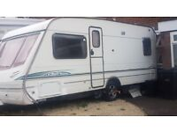 2003 Abbey vogue GTS 415 Fixed Bed 4 Berth Touring Caravan with extras Alloys motor mover