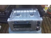Camping gaz full cooker and oven used twice motorhome forces sale cost new £160