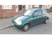 2002 Ford KA 1.3 Collection Decent MOT FSH Elec Windows Fiesta Clio Corsa