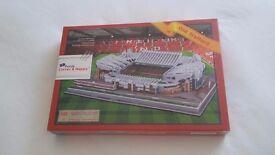Old Trafford 3D jigsaw brand new