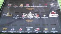 Molson Stanley cup ring display case