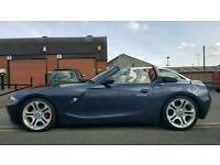 BMW Z4 2.5i convertible red leather cat D