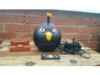 Angry bird speakers with remote