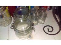 6 KILNER JARS