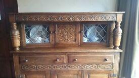 Sideboard, dark wood